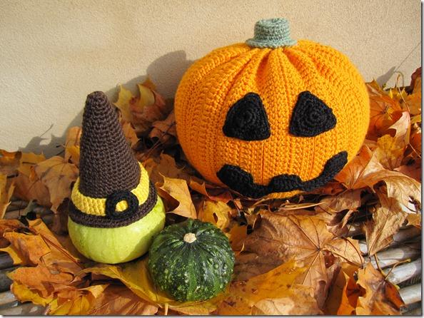 Hæklet Halloween Græskar Crochet Haloween Pumpkin 2