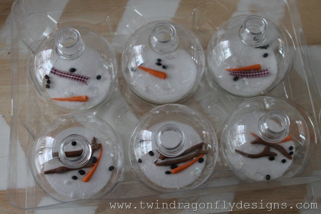 Melting Snowman Ornament (4)