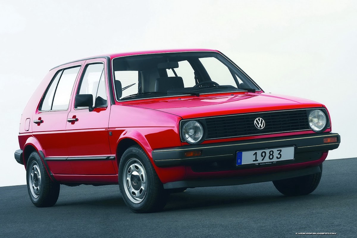 volkswagen and the seven golfs: a brief history of a 38-year old icon