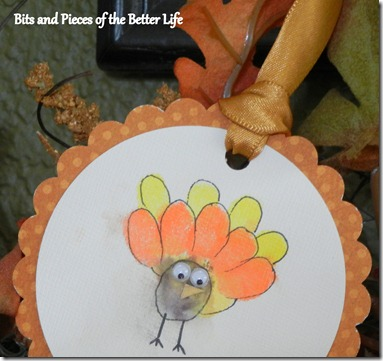 Thumb print turkey