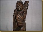 Patung dewa bumi - atas