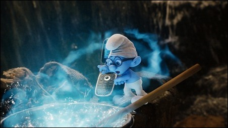 Brainy Smurf in Columbia Pictures' THE SMURFS.