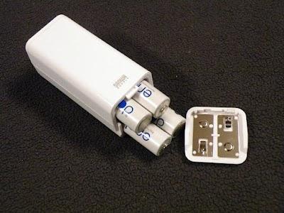 SANWA SUPPLY USB出力付ポータブルバッテリー電源にeneloop
