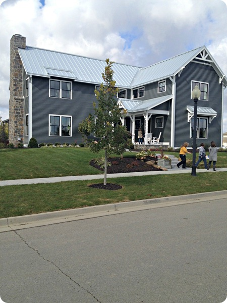 farmhouse inspired exterior