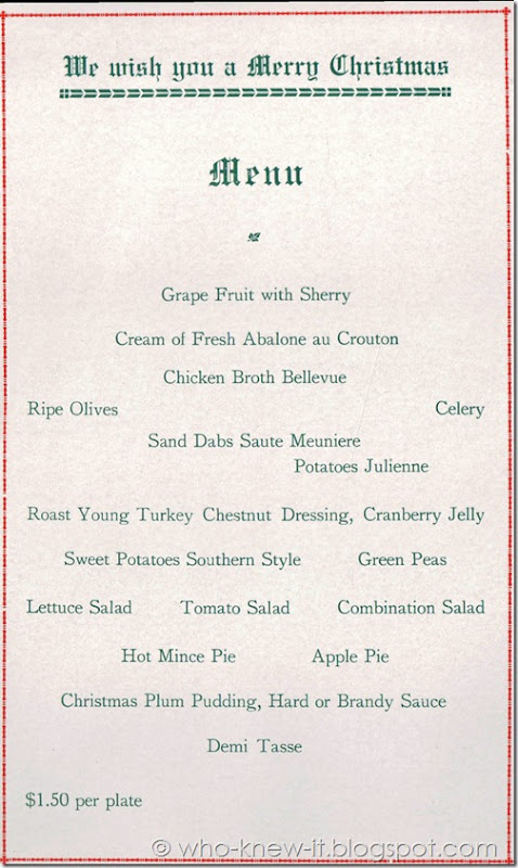 Menu Inside