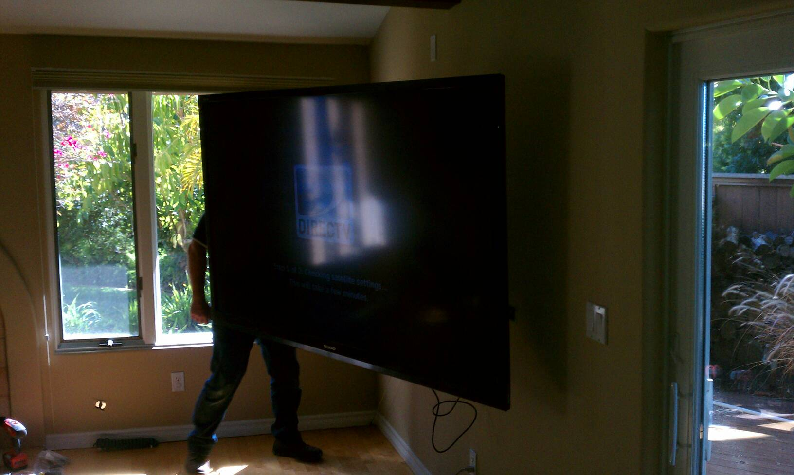 80 inch tv install today Calray Electric, Inc.: