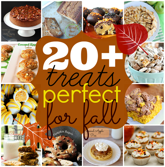 Over 20 treats perfect for #fall #recipes #linkparty #features GingerSnapCrafts.com_thumb[4]