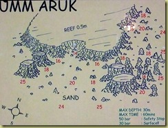 Umm Aruk Dive Plan