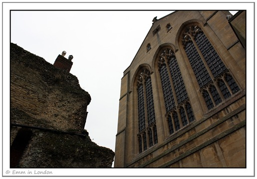 Eastern face of St Edmundsbury Cathedral