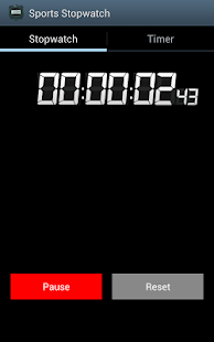 Sports Stopwatch - screenshot