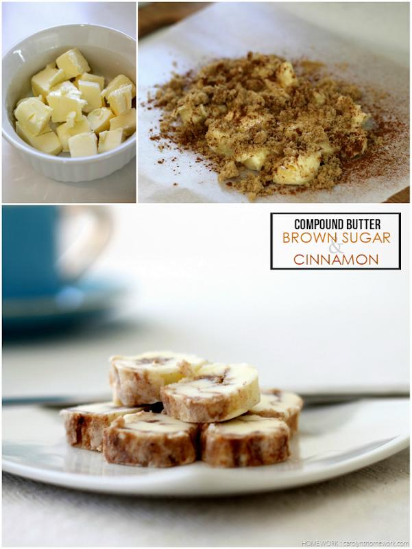Compound Butter - Brown Sugar & Cinnamon - carolynshomework (1)