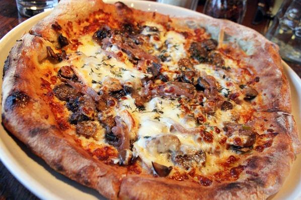 2 Mushroom pizza