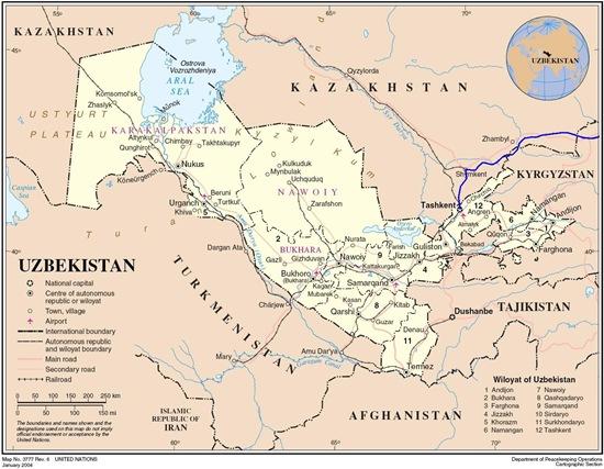 Uzbekistan_map1