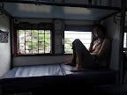 Petit matin après la nuit dans le train