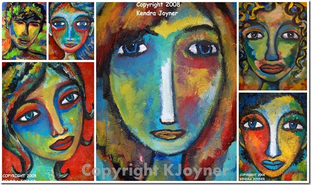 Women Abstract Art By KJoyner