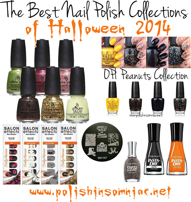 The best of Halloween 2014 Nail Polish Collections
