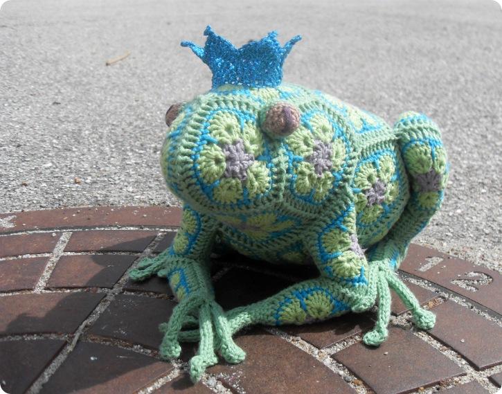 Den grønne Tomato Frog Prince