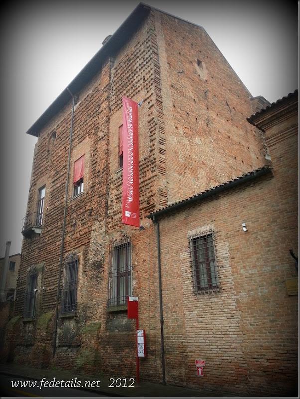 Palazzo Costabili ( facciata esterna ), Ferrara, Emilia Romagna, Italia - Palazzo Costabili ( external frontage ), Ferrara, Emilia Romagna, Italy - Property and Copyrights of www.fedetails.net
