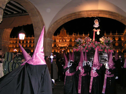 Easter in Salamanca, Spain