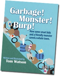 Garbage Monster Burp By Tom Watson