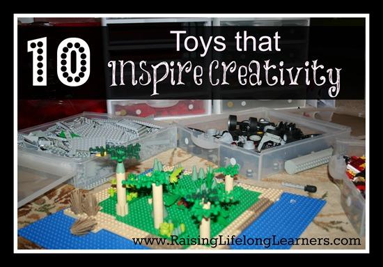 10 Toys that Inspire Creativity via RaisingLifelongLearners.com