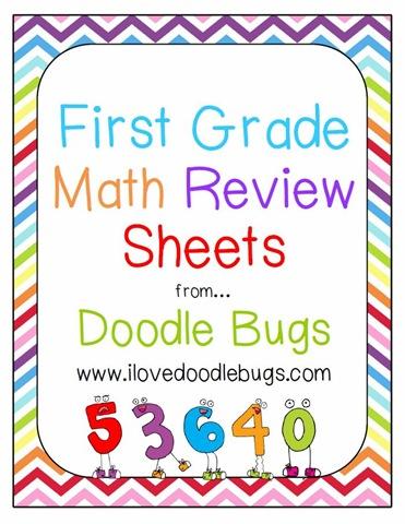 Doodle Bugs Teaching {first grade rocks!}: First Grade Math Review ...