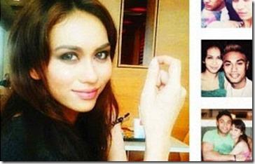 Gambar kekasih baru Ammar Alfian 4