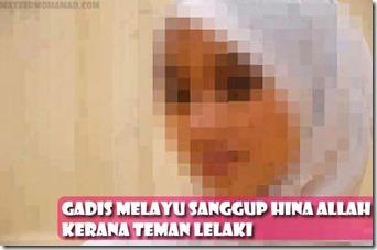GADIS MELAYU SANGGUP HINA ALLAH DEMI PAKWE! (1)