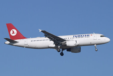 Turkish Airlines: Constanta – Istanbul (si retur) la 99 euro