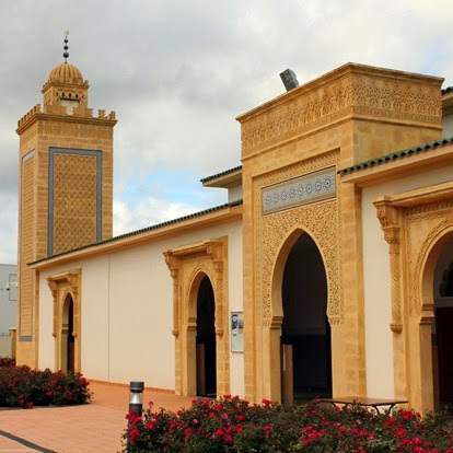 Mosque Mohammed VI st etienne