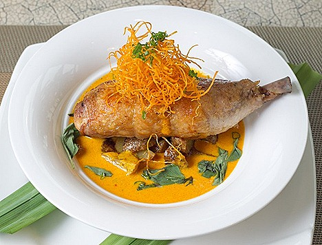 The Moluccas Room Marina Bay Sands Indonesian french BEST RESTAURANTS BARS Palate Dining Programme American Express Singapore