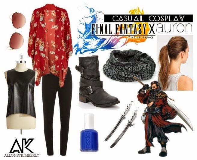 Casual Cosplay: Auron (Final Fantasy X) | allonsykimberly.com