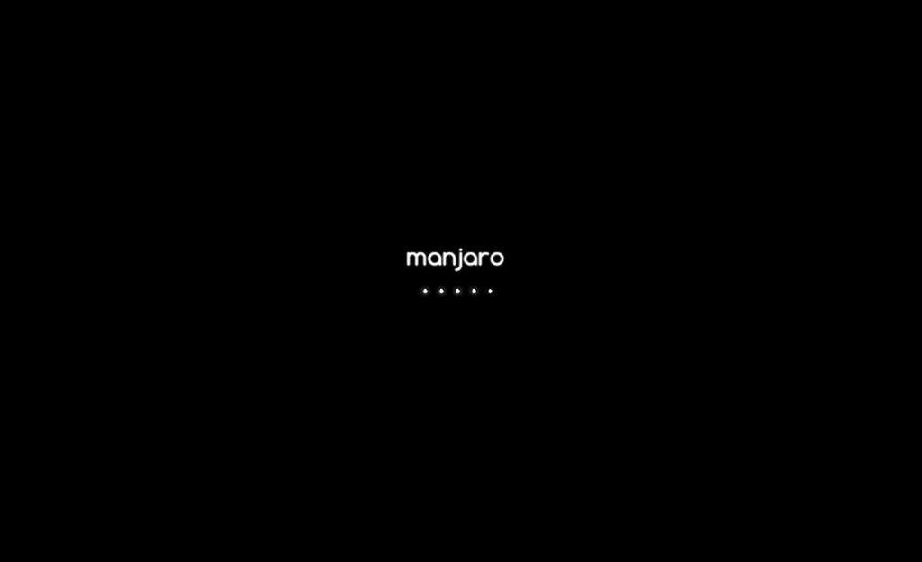 Manjaro 0.8.10 Xfce Public - Plymouth