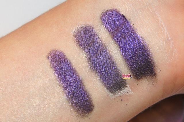 amostra dos pigmentos