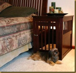 furniture dog cage