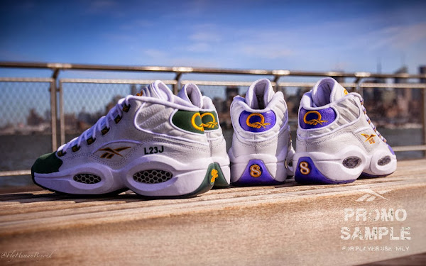 Reebok Question LeBron amp Kobe 8220For Player Use Only8221 Pack