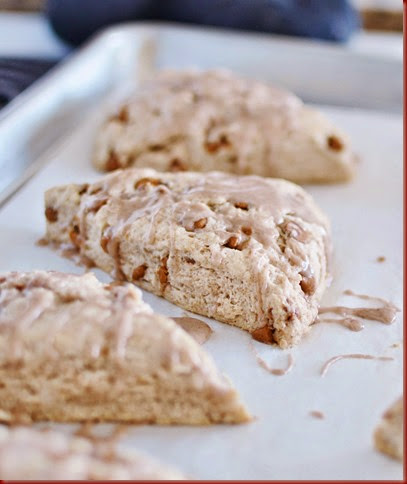 Do you ever want to just do something different Cinnamon Scones