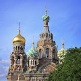 サンクトペテルブルグにある血の上の救世主教会