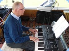 John Beales playing a Korg Pa3X