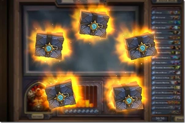 Arena chest rewards