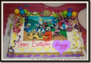 Buggy's Bday Cake