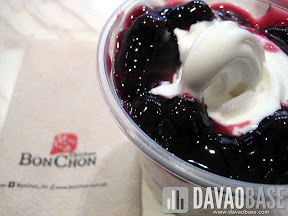 Blueberry Torte Ko-Yo (Korean Yogurt) at BonChon Chicken