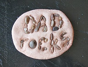Paperweight Father's Day Gift from Crafts by Amanda
