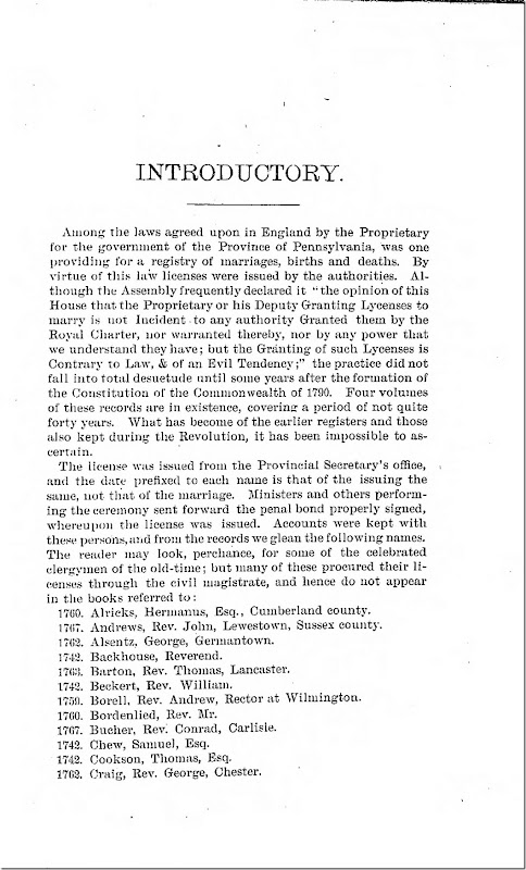 Pennsylvania Archives Series 2 Volume 2 Introduction Page 3