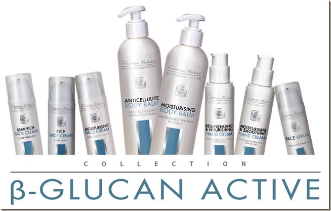 Козметичните продукти от серията β-GLUCAN ACTIVE