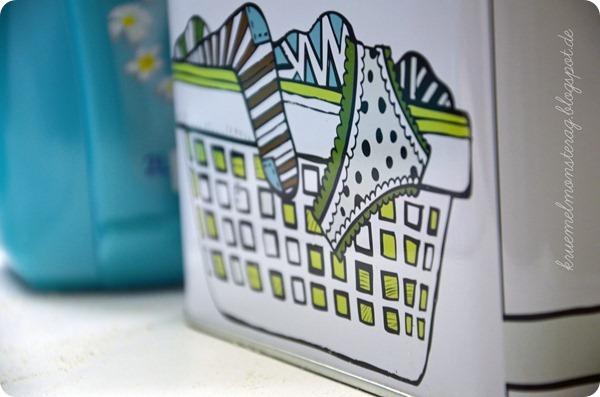 1 von 7 Sachen - Wäsche gewaschen
