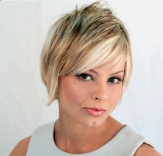 Choppy Layered Short Hairstyle