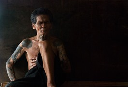 Iban tatuaggi Borneo