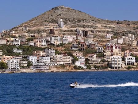76. Sarande, litoralul albanez.JPG
