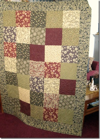 Christmas quilt front 2011
